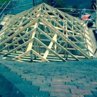 Truss roof