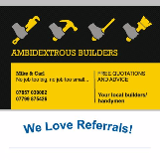 Ambidextrous Builders