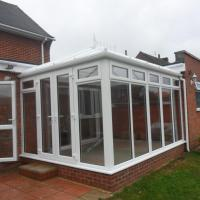 Conservatory after completion