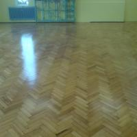 Parquet Floor at School in Bromley.