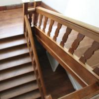 Renovation of oak staircase.