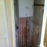 boiler install i completed for Aqua 