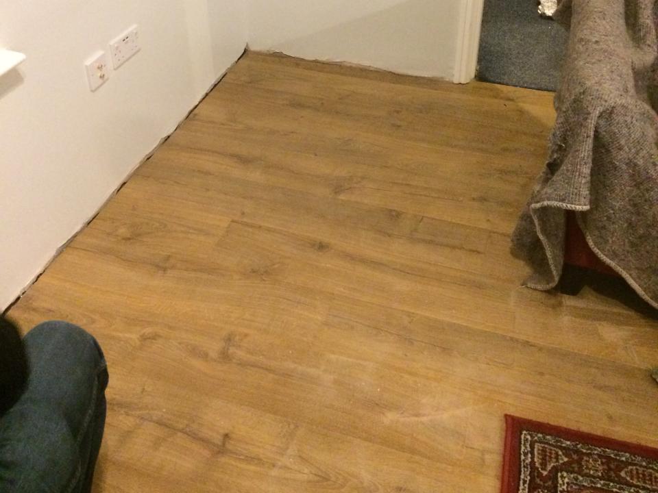 Quickstep Laminate Flooring Installation