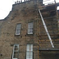 25 grange road chimney rebuild.work in progress may 2014