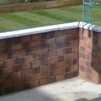 Garden landscapes walls and turfing