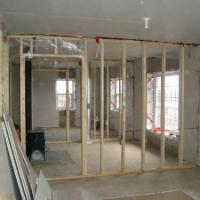 Divide a room and garage 