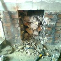 Old fire place [BEFORE]