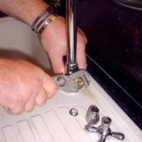 rewashering mixer tap