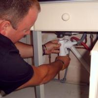 fitting new washing machine trap under sink