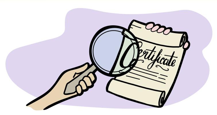 checklist-certificate