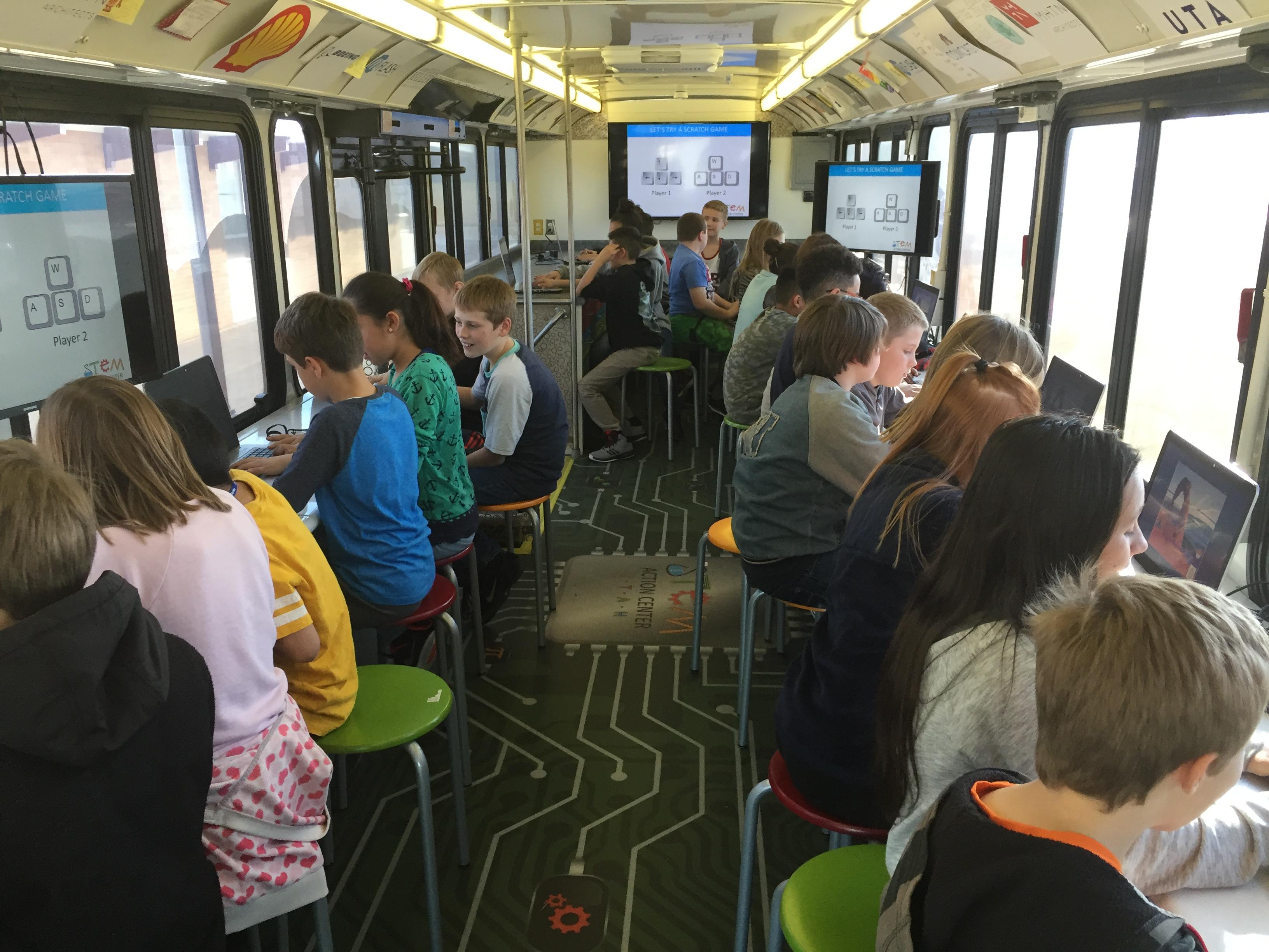 Utah STEM Bus 2