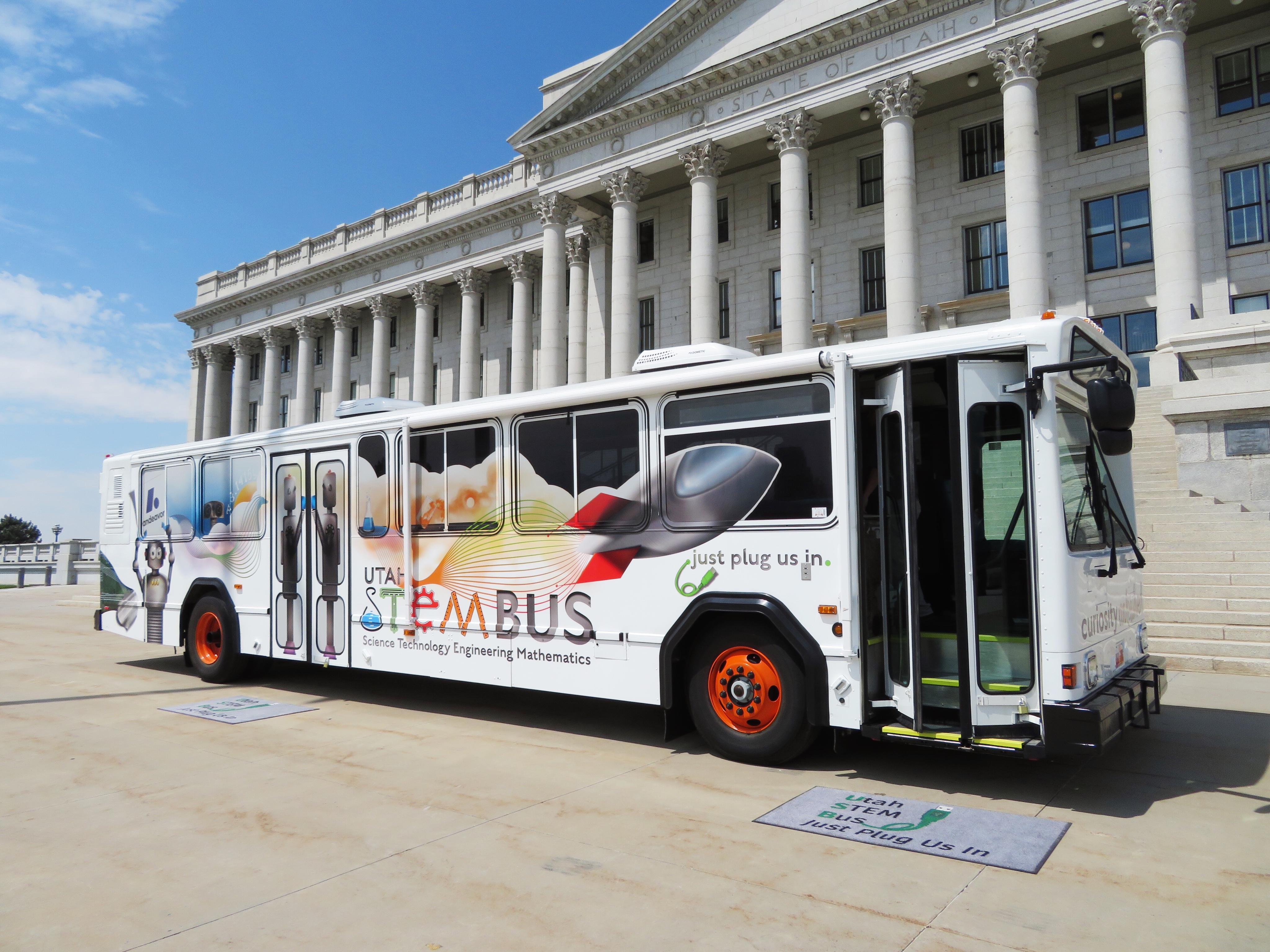 Utah STEM Bus 1