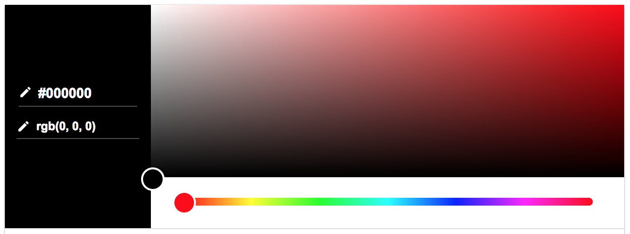 Google colour picker