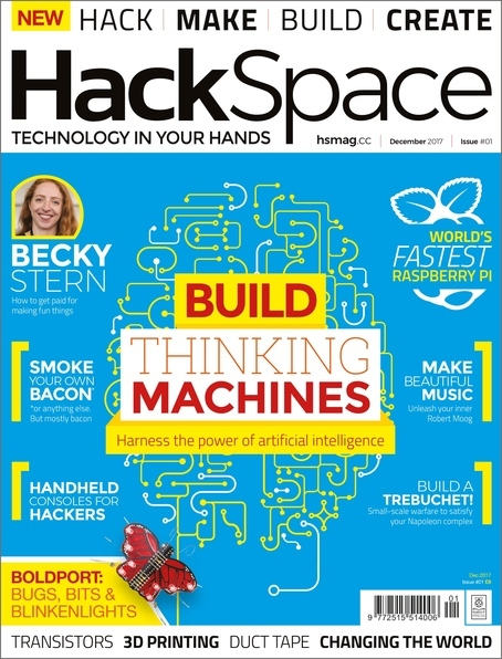 HackSpace magazine Issue 1 cover