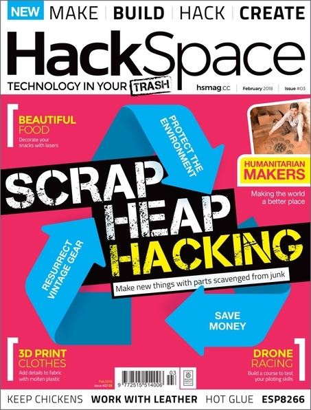 HackSpace magazine Issue 3 cover