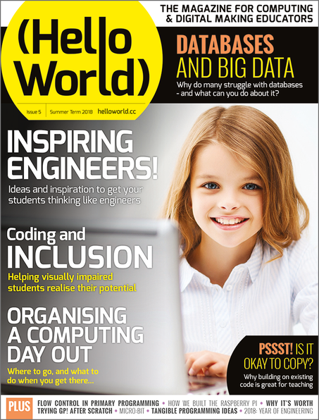 Hello World Issue 5 cover