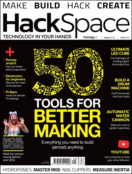 HackSpace magazine Issue 9 cover