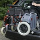 Scootmobiel of rolstoellift