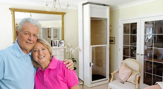 Ascensore domestico for Piani di ascensore domestico