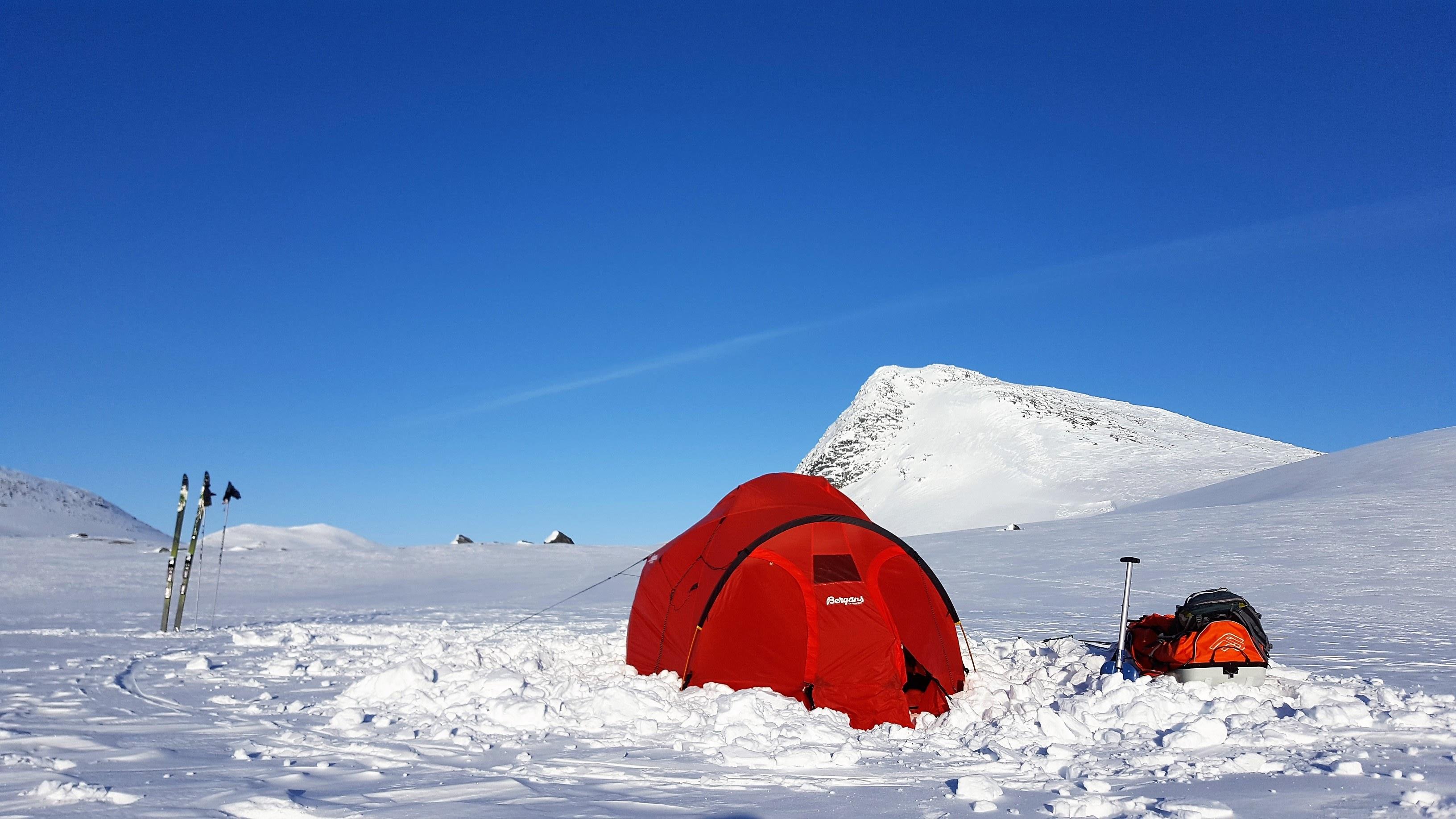 Telttur på Saltfjellet