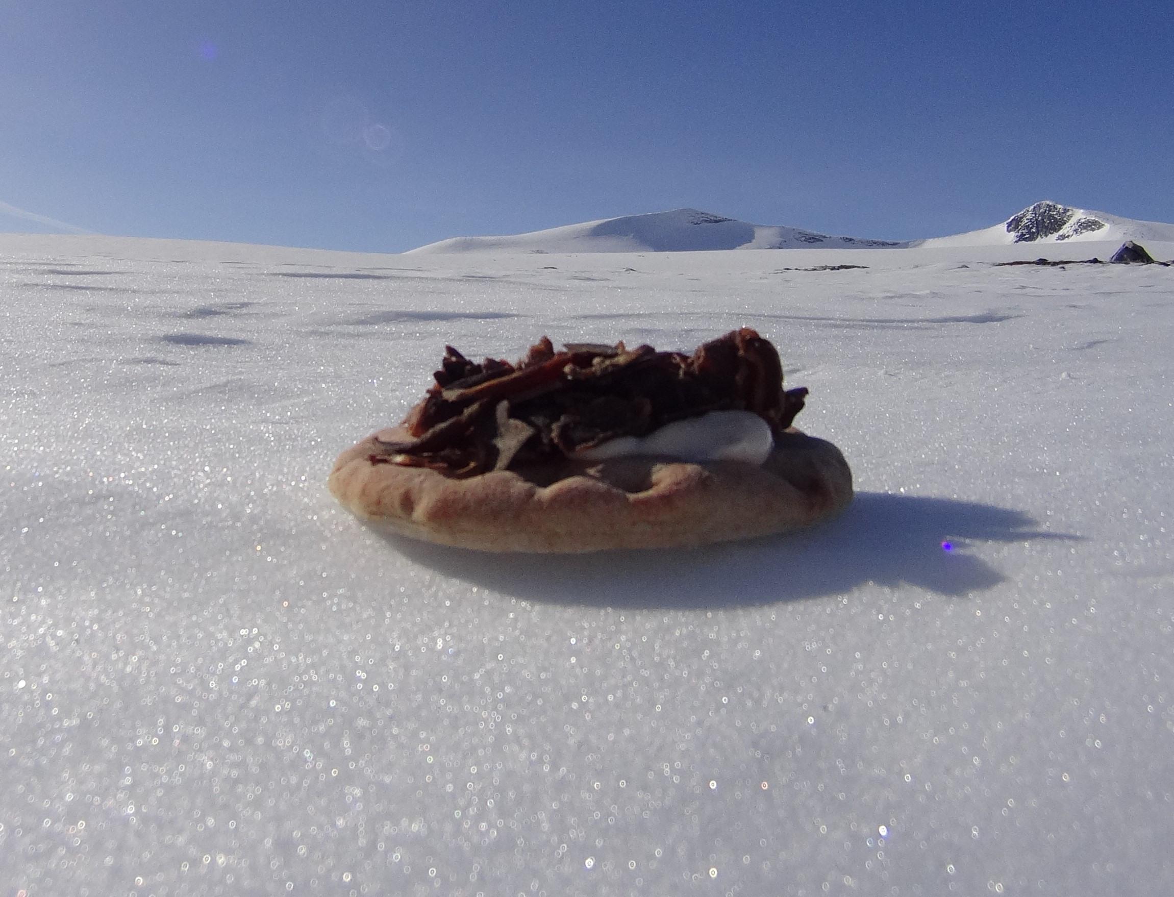Polarbrød og reinkjøtt