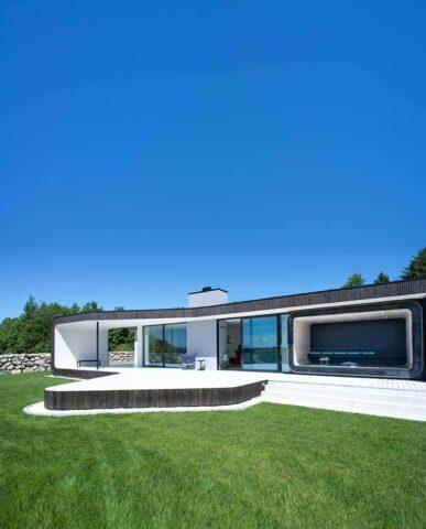 STILRENT: Arkitekt Tommie Wilhelmsen er kjent for sin elegante linjeføring og tiltalende design.