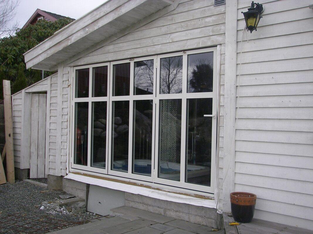 Foldedør/ Prosjekt - Keboglass Bergen