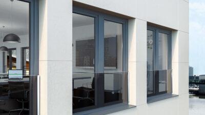 PVC vinduer og skyvedører
