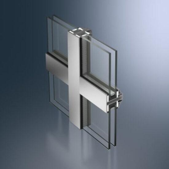 Den slanke stålprofilserien til vinduer og fastfelt