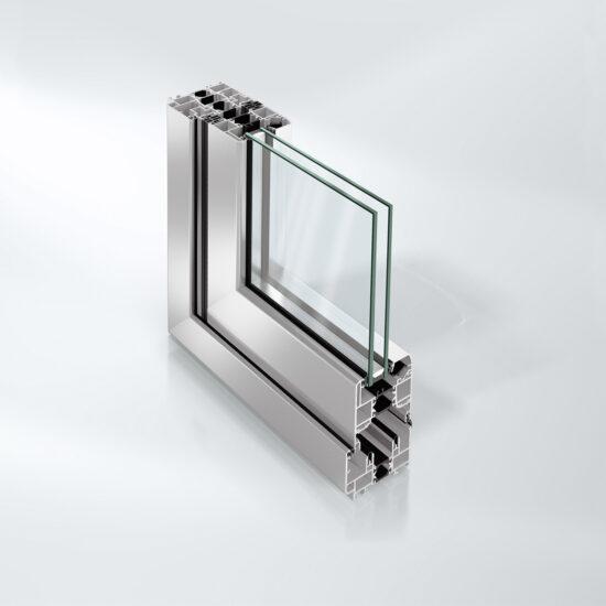 Isolert foldedør Schüco ASS 70 FD