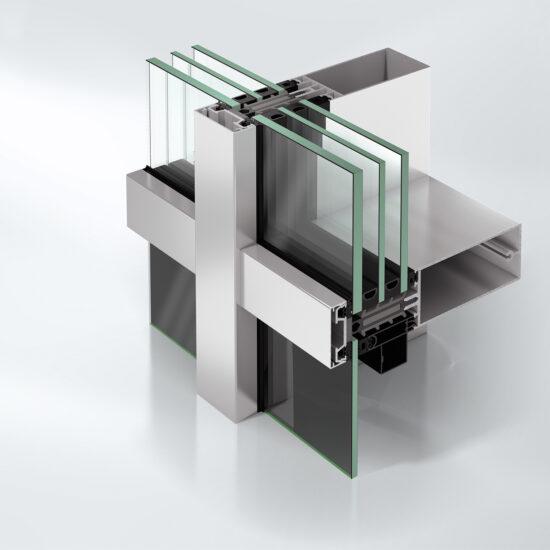 Schüco fasadesystem FWS 50