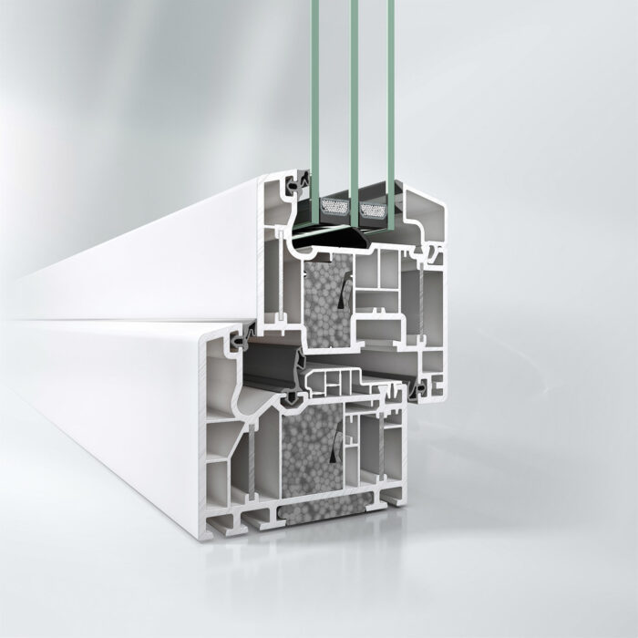 Innadslående PVC-vindu skreddersydd for det nordiske klimaet