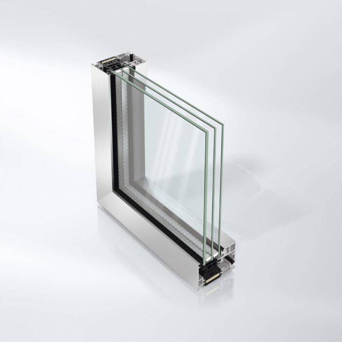 Panorama vinduessystem AWS 75 PD.SI