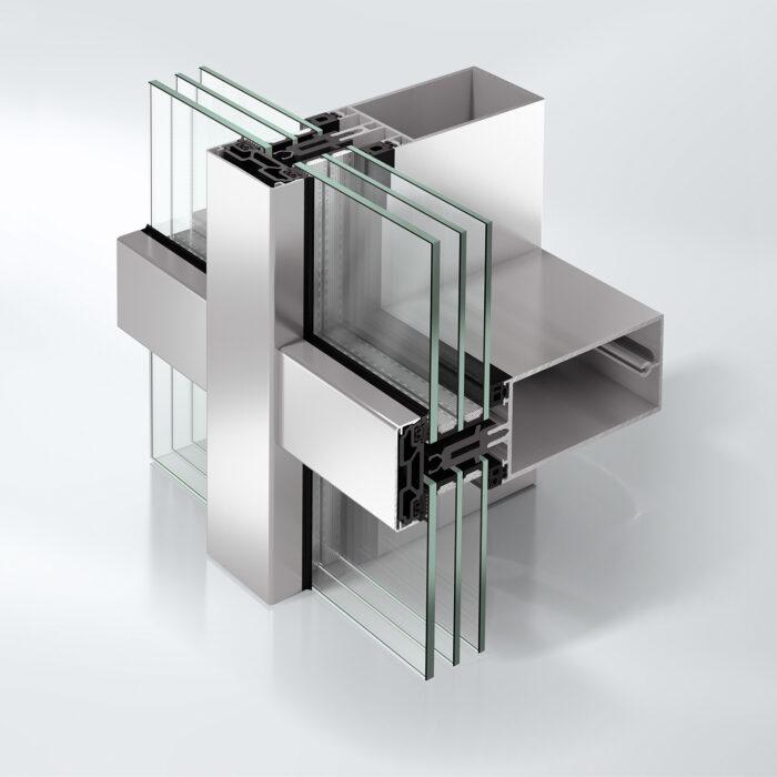 Fleksible glassfasader med stor designfrihet