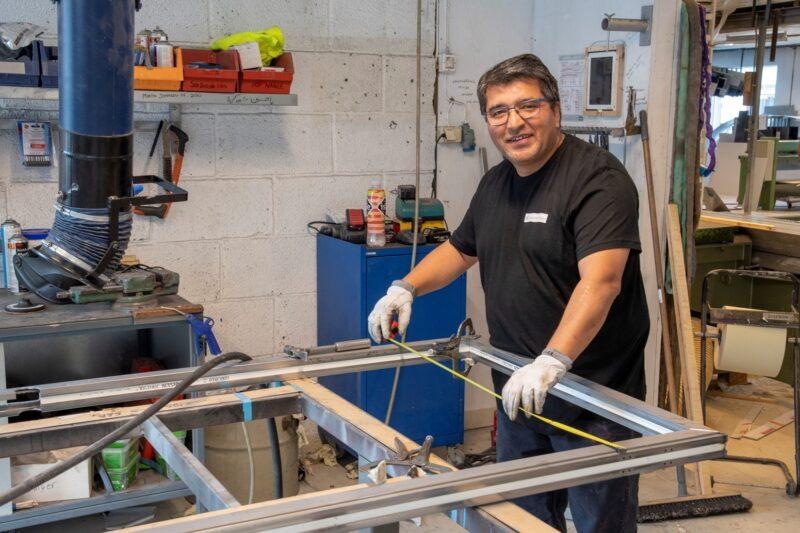 Produksjon stålavdelingen