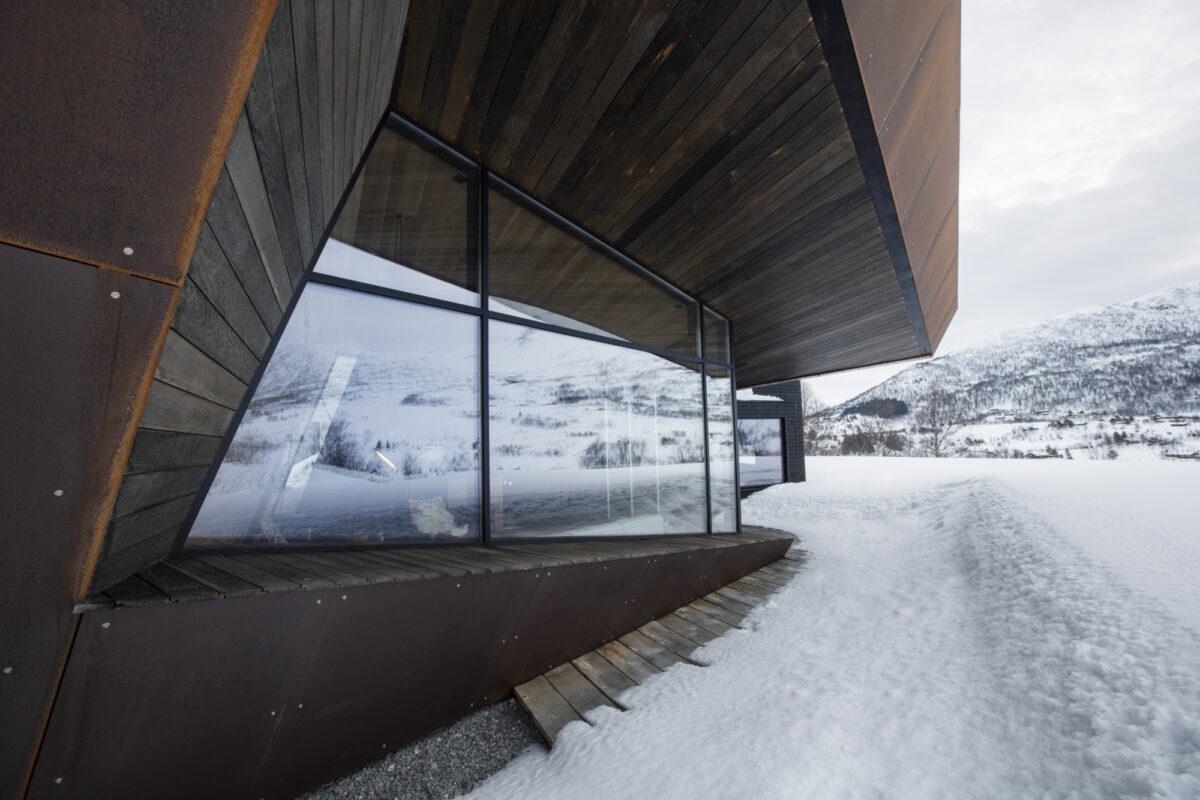 Arkitekten har valgt materialer som er robuste og holdbare