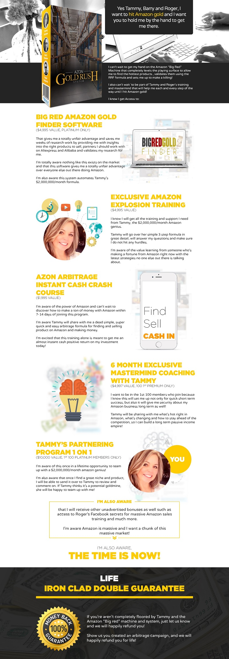Azon Gold Rush System (Roger & Barry & Tammy