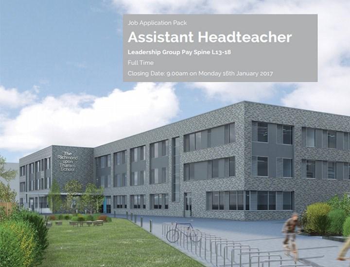 Staff Vacancies - Assistant Headteacher