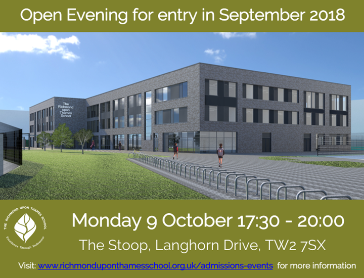Open Evening for Admission in 2018