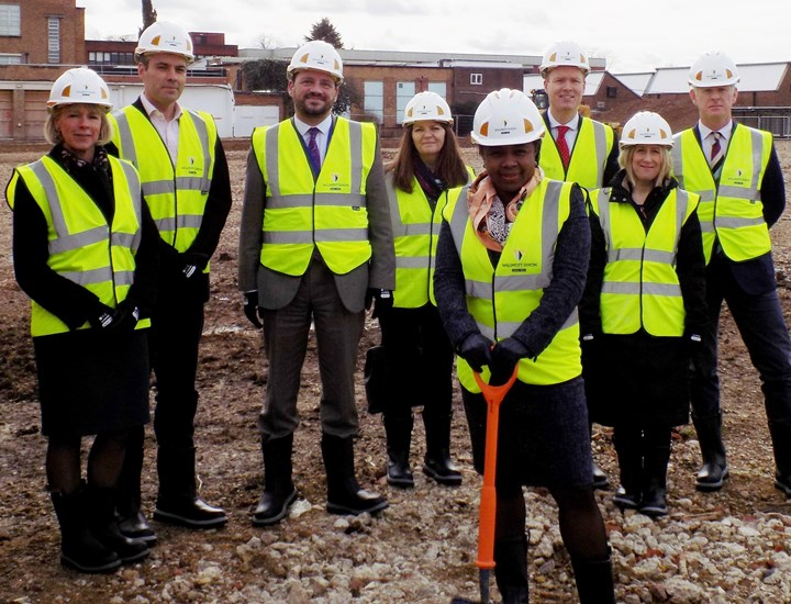 Building works underway on exciting new secondary school