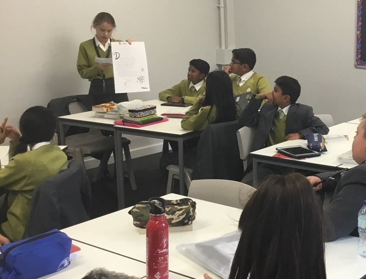 RTS students research maths in everyday life