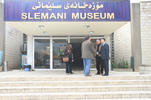 Outside the Slemani Museum, Sulaimaniya. Photo: Ruya Foundation.