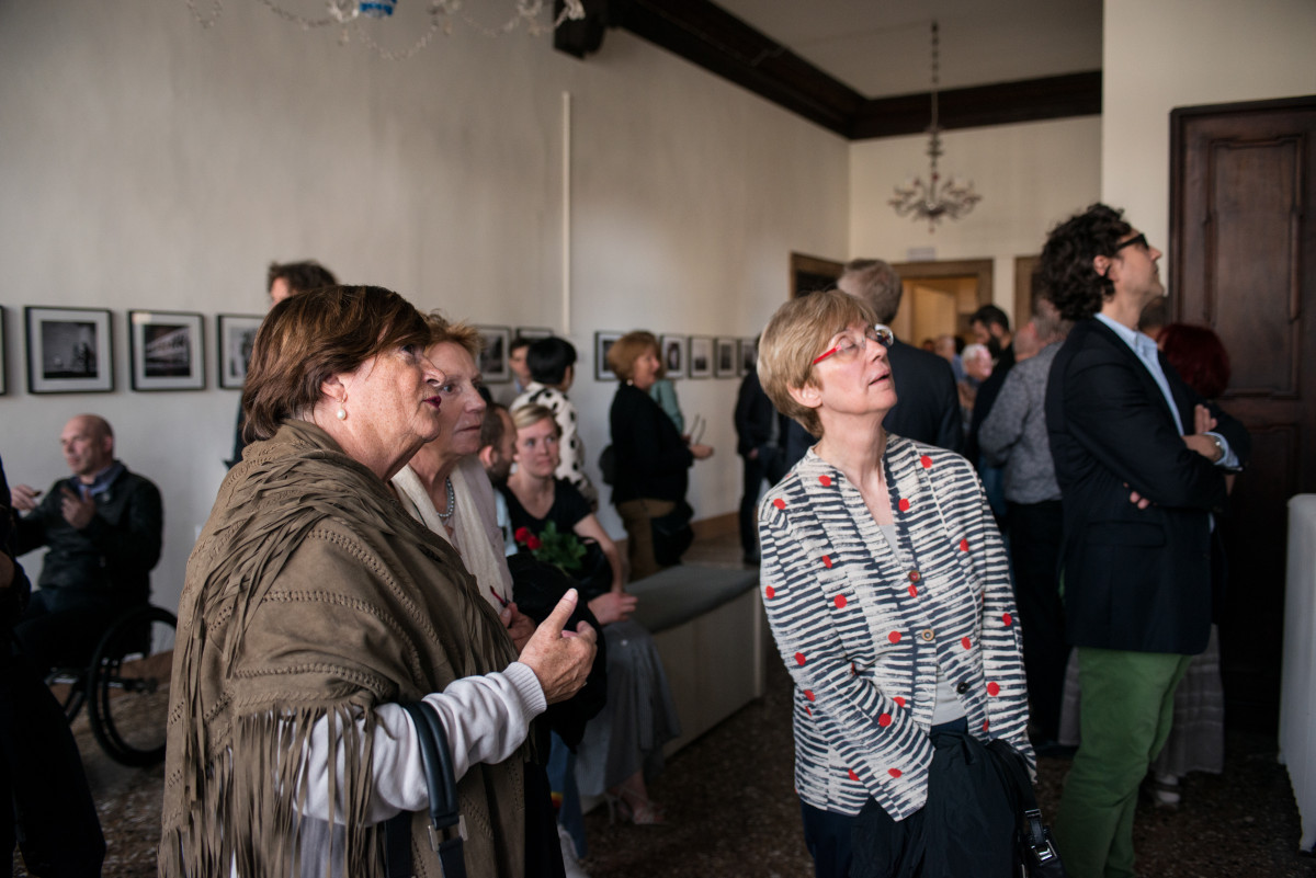 At the Invisible Beauty Opening Reception. Photo: Mathias Depardon. (c) Mathias Depardon/ Ruya Foundation