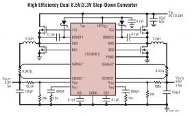 LTC3858-2 - Low I, Dual 2-Phase Synchronous Step-Down Controller