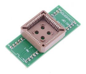 Adapter uniwersalny PLCC44 -> PDIP40 uP