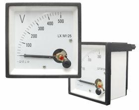 Miernik analogowy woltomierz kwadratowy duży 500V