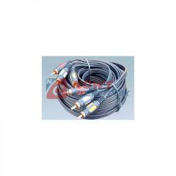 Kabel 3*RCA 1.0m łezka