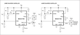 MAX31740 Ultra-Simple Fan Speed Controller
