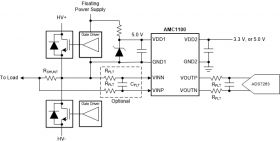 AMC1100 - ±250 mV-Input, Low-Cost Basic Isolated Amplifier for Current Sensing