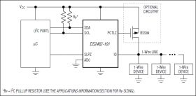 DS2482-101 Single-Channel 1-Wire® Master with Sleep Mode